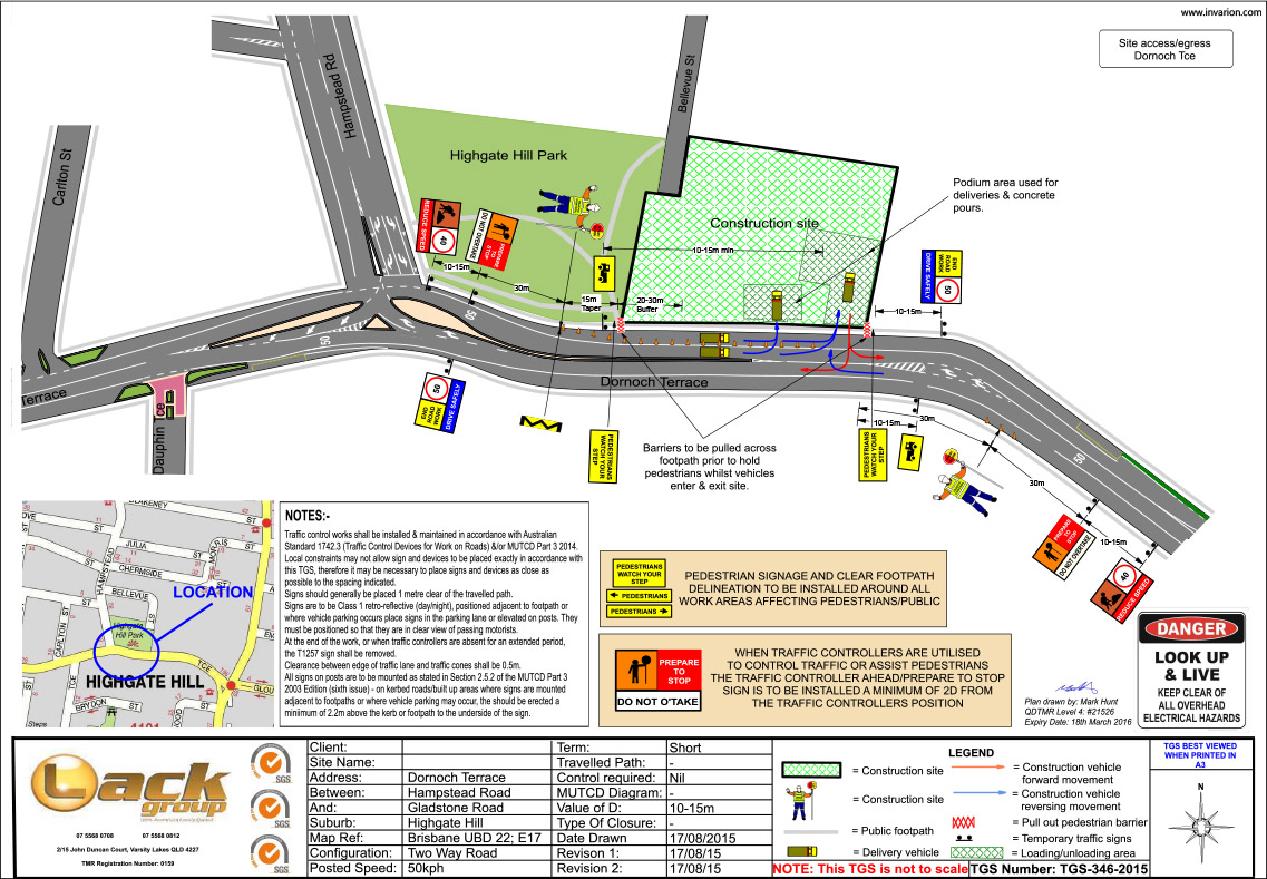 Traffic Management Plans